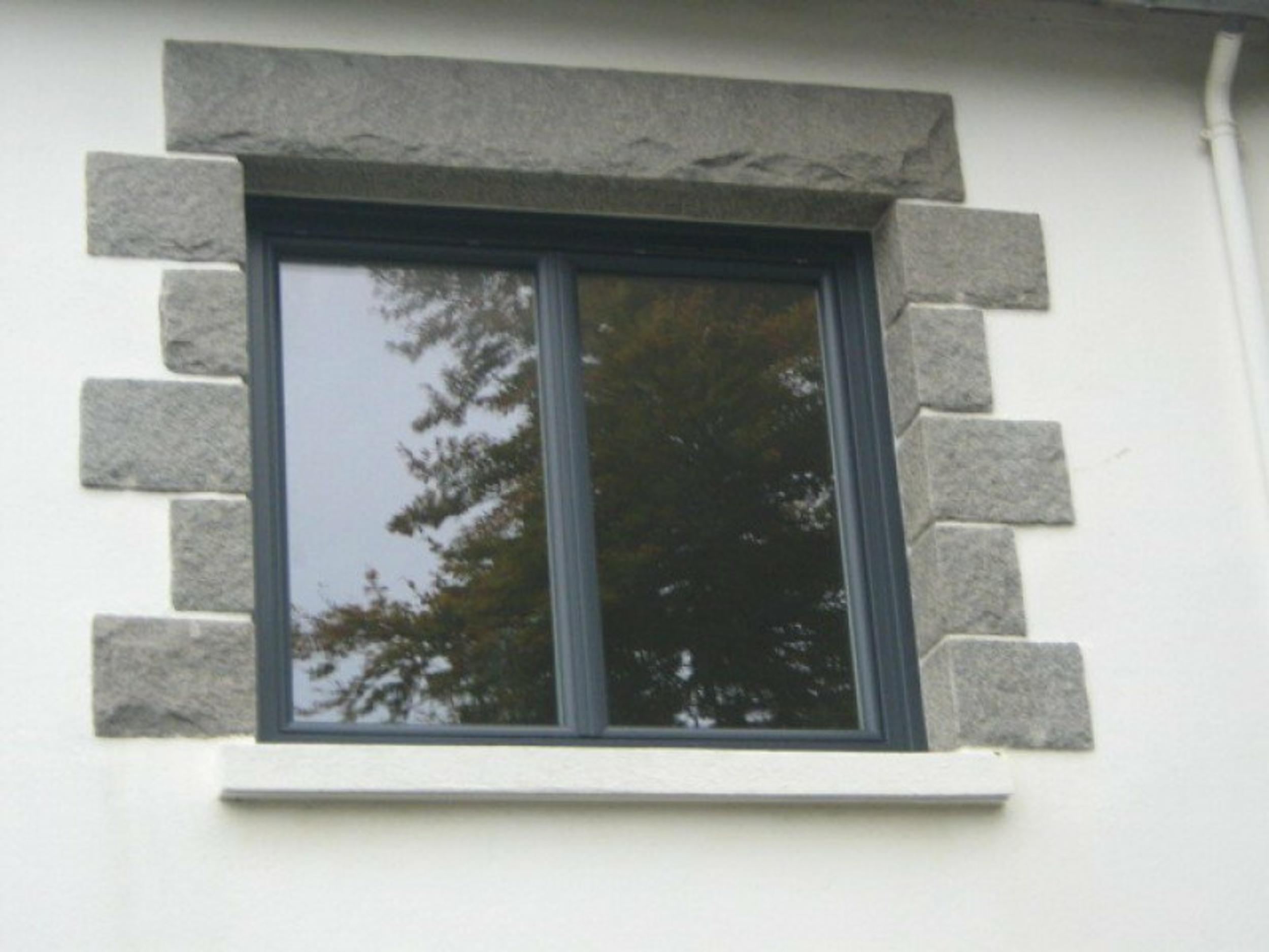 Fenêtre PVC Gris anthracite - Saint-Brieuc