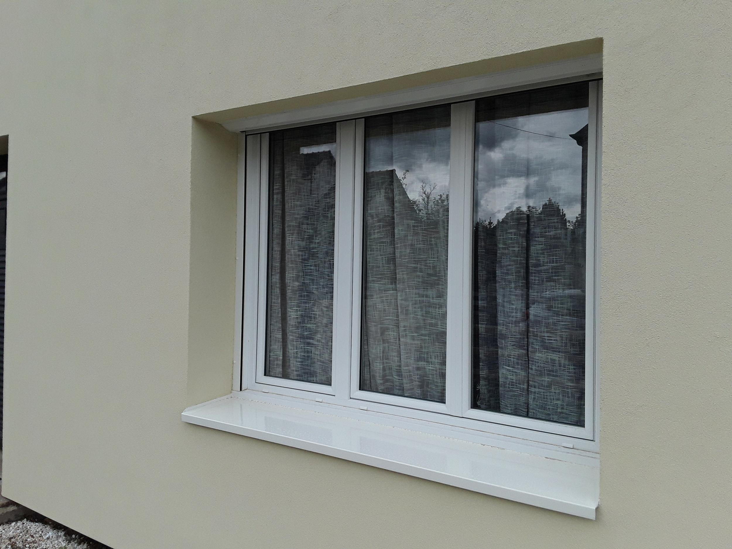 Menuiseries PVC blanc en rénovation à Saint-Brieuc (22)