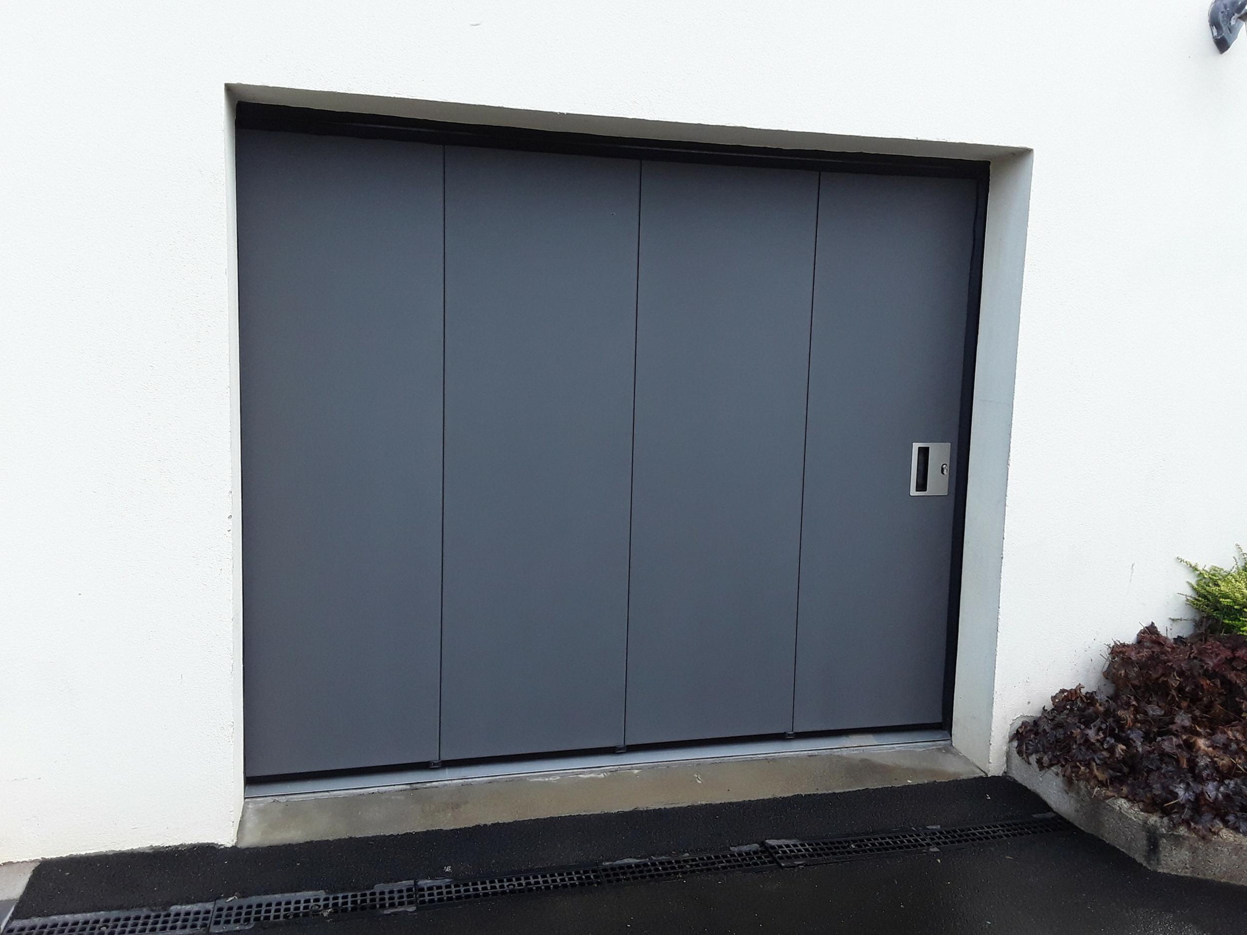 Porte de garage - Plaintel