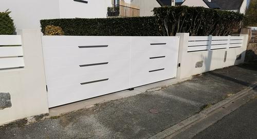 Pose portail et clôture - Plérin