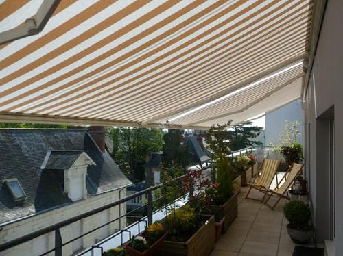 Store de terrasse en aluminium