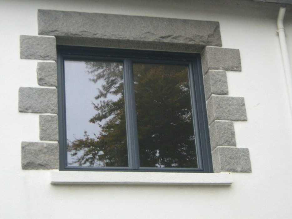 Fenêtre PVC Gris anthracite - Saint-Brieuc 0