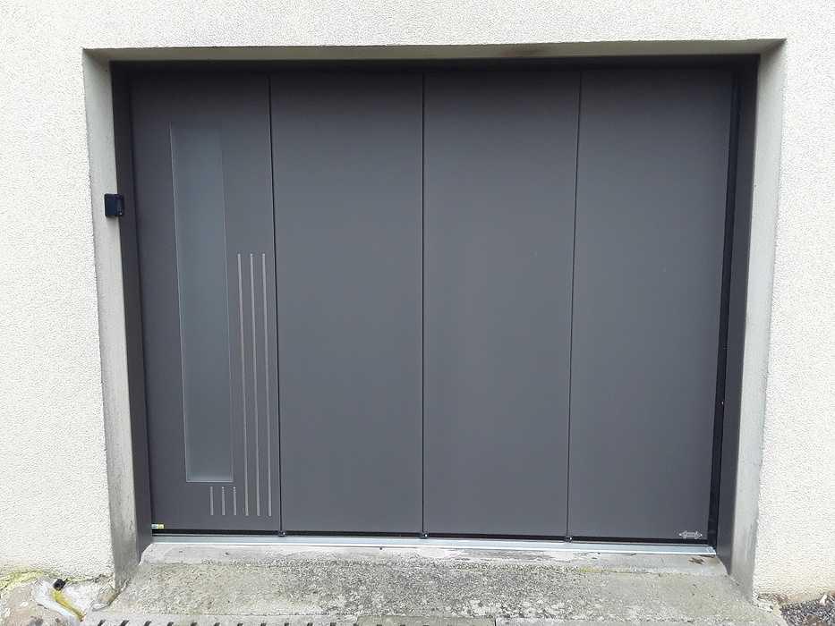 Remplacement porte d''entrée et porte de garage plaine-haute2