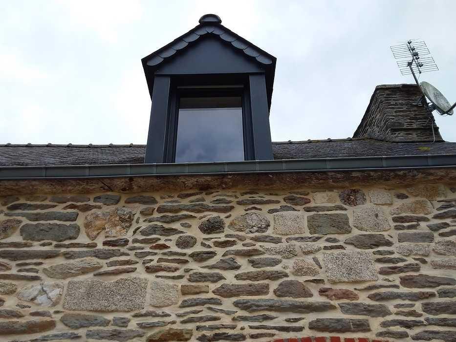 Rénovation complète des menuiseries d''une longère en pierre / Secteur Grâce-Uzel (22) graceuzel7