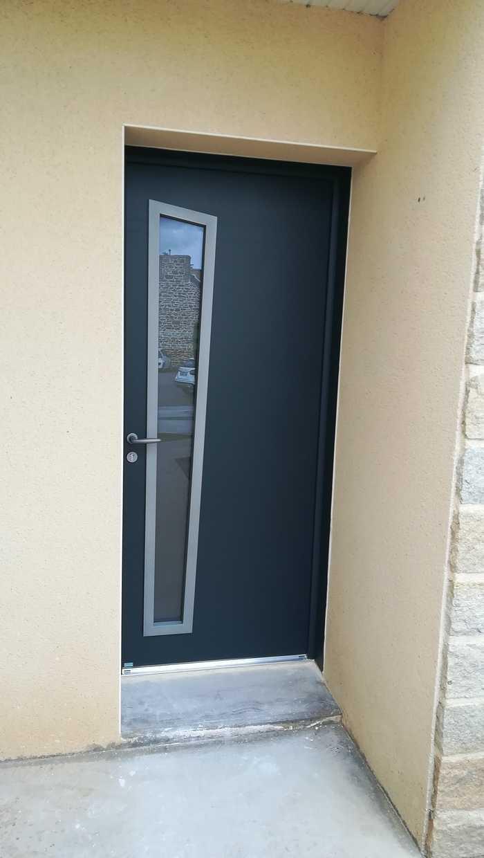 Porte de garage et porte d'entrée - Hillion (22) 0