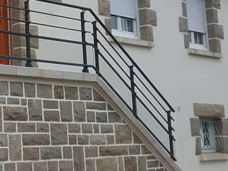 Garde-corps pour balcon - Plaintel 207-3